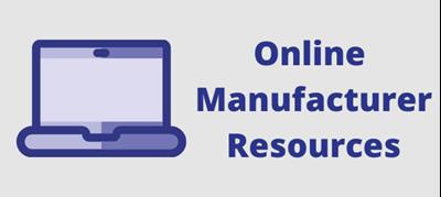 Online Manufacturer Resources