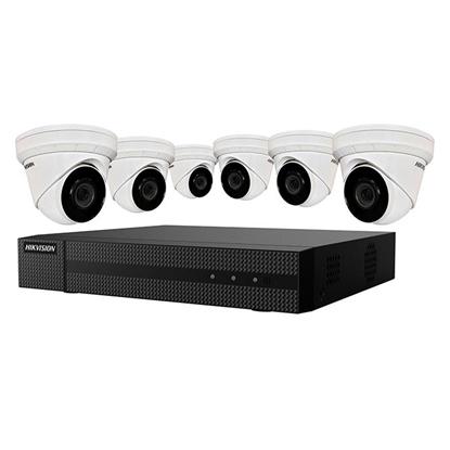 Group One HikVision EKI-K82T46 - 6 Camera 8 Channel NVR Kit