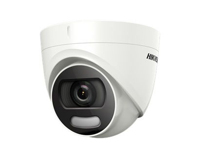 Group One HikVision DS-2CE72HFT-3.6 - 5 MP ColorVu fixed lens Turret Camera