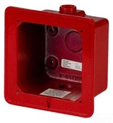 Group One Edwards 2459-WPB-R - Weatherproof Back Box - Red