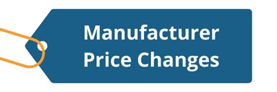 2021 Q4 Price Changes